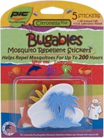 Bugables ® Mosquito Repellent Stickers