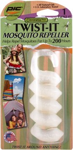 Citronella Plus TWIST-IT Mosquito Repeller