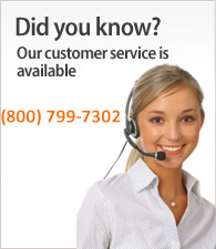 Something Bugging you? Call Customer Service 800-799-7302